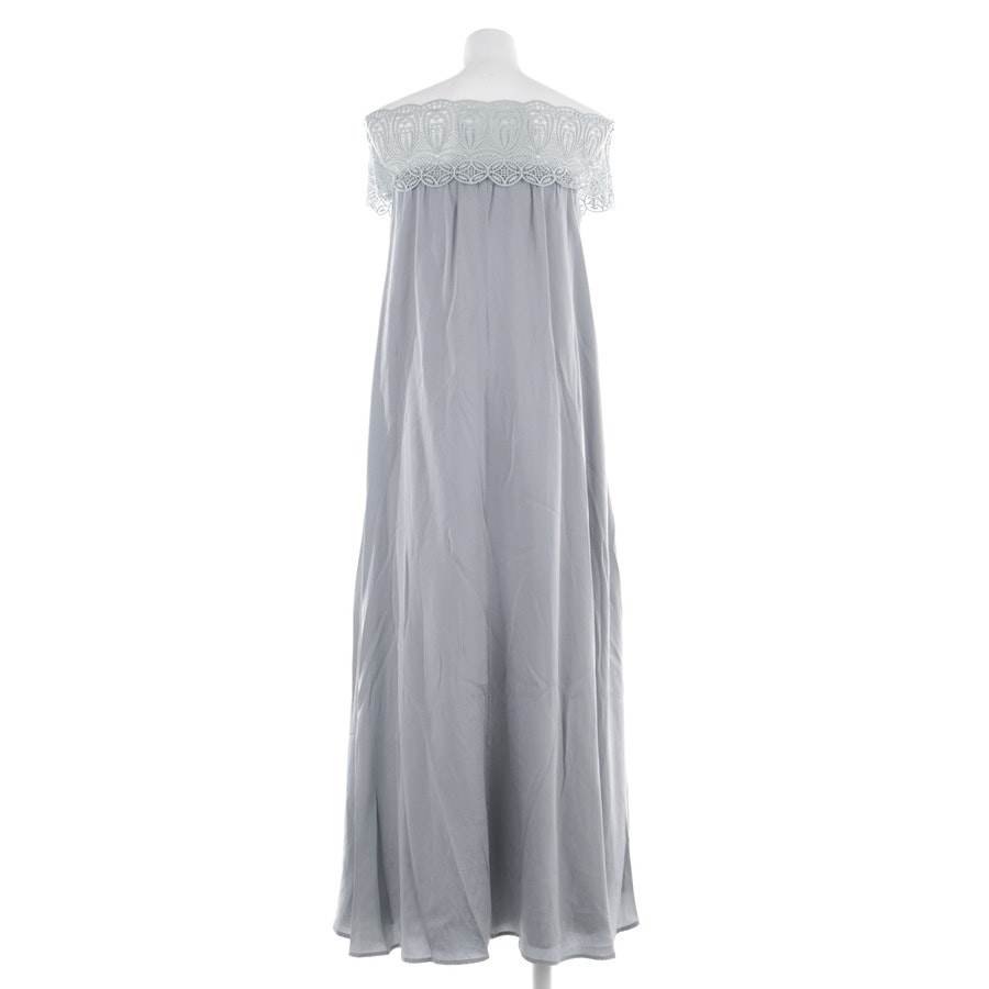 dress from self-portrait in pigeon blue size 38 UK 12
