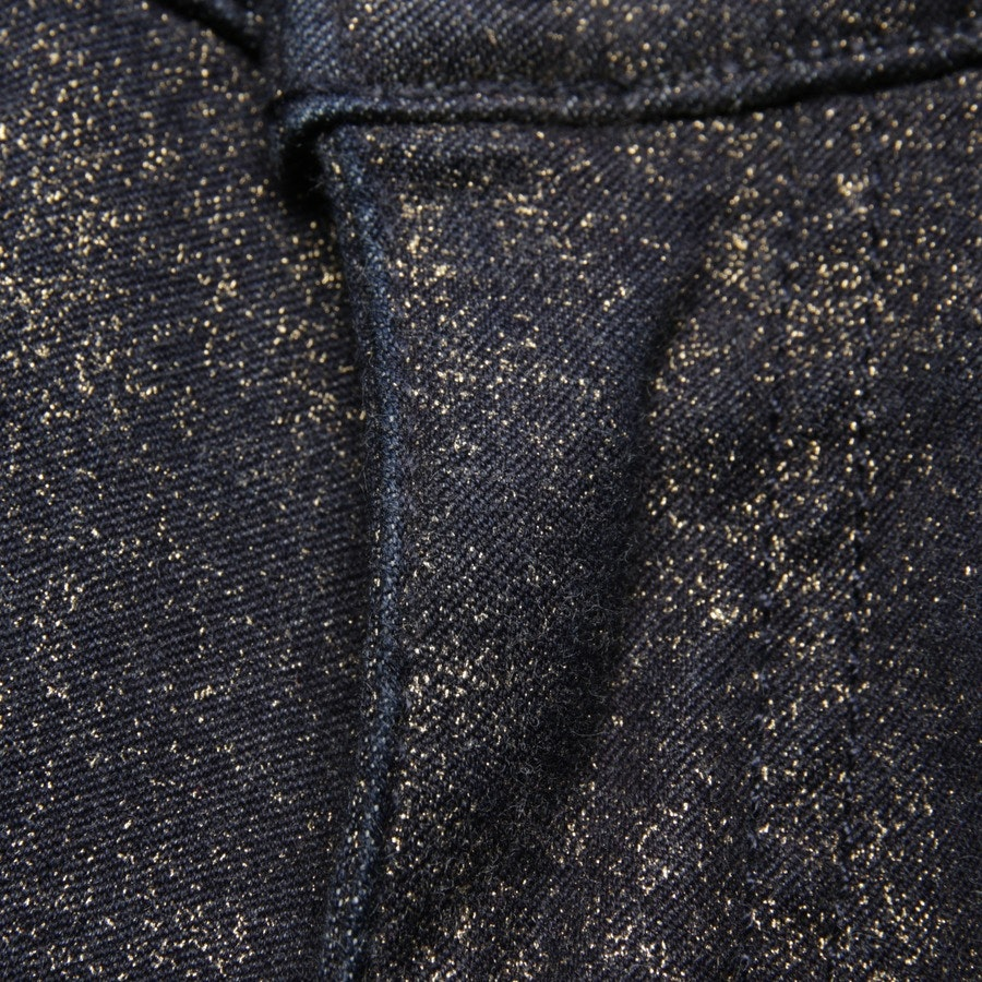jeans from Current/Elliott in midnight blue and gold size W27