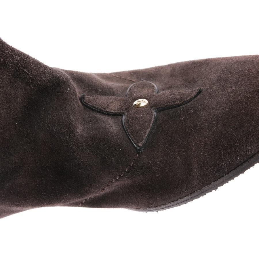 Stiefel von Louis Vuitton in Braun Gr. D 37