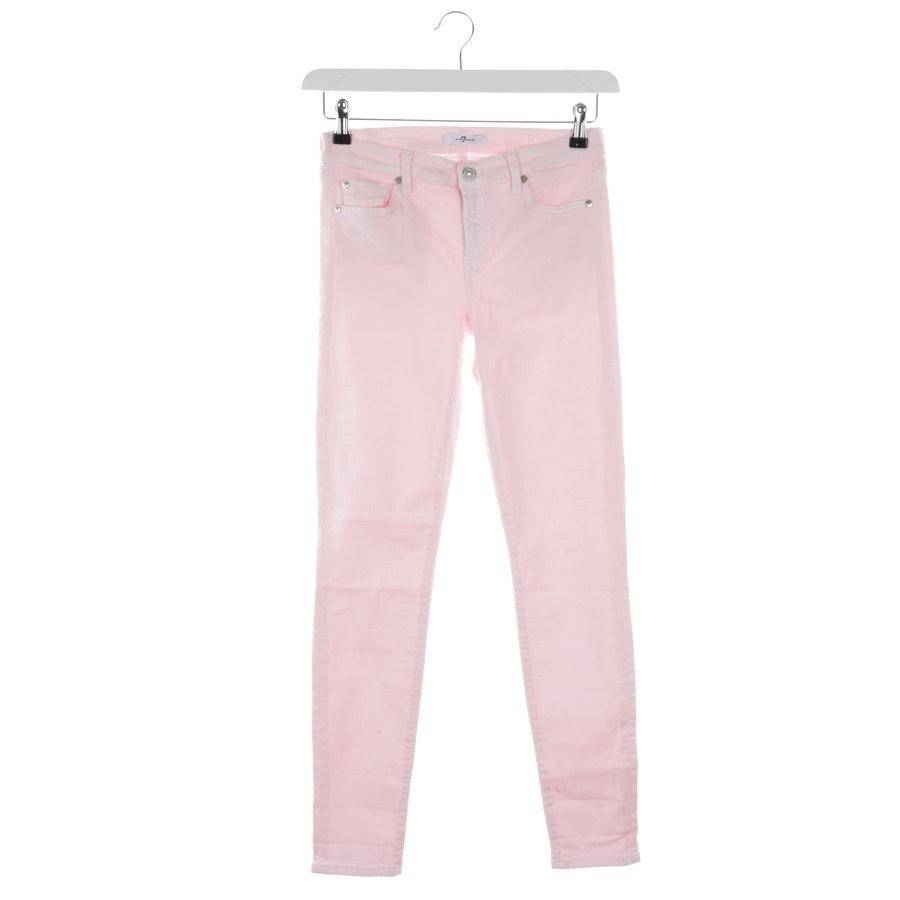 Jeans von 7 for all mankind in Rosa Gr. W28