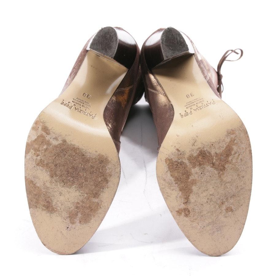 Stiefel von Patrizia Pepe in Braun und Gold Gr. D 38