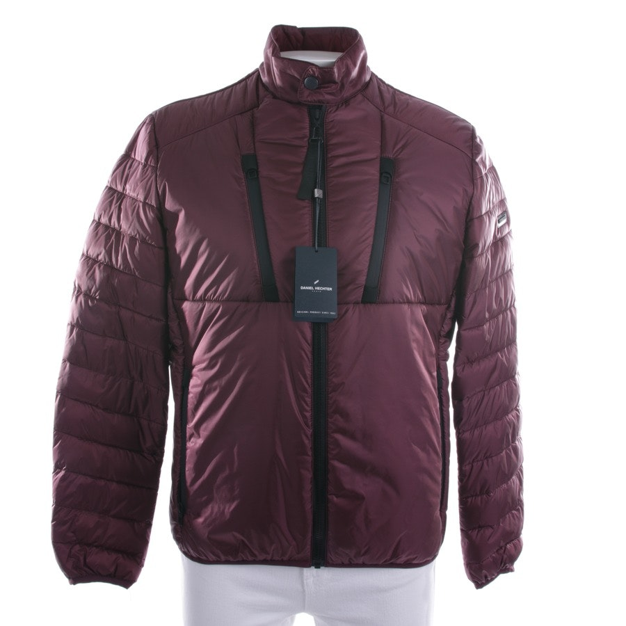 between-seasons jackets from Daniel Hechter in wine red and black size M - new
