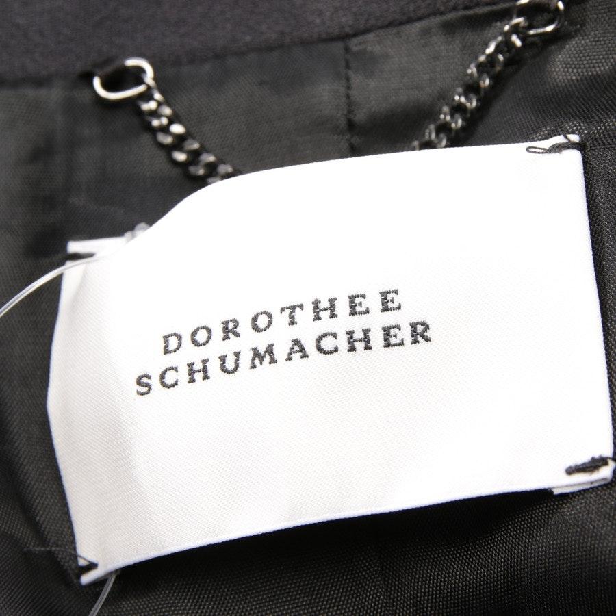 Blazer von Dorothee Schumacher in Anthrazit Gr. DE 38 / 3