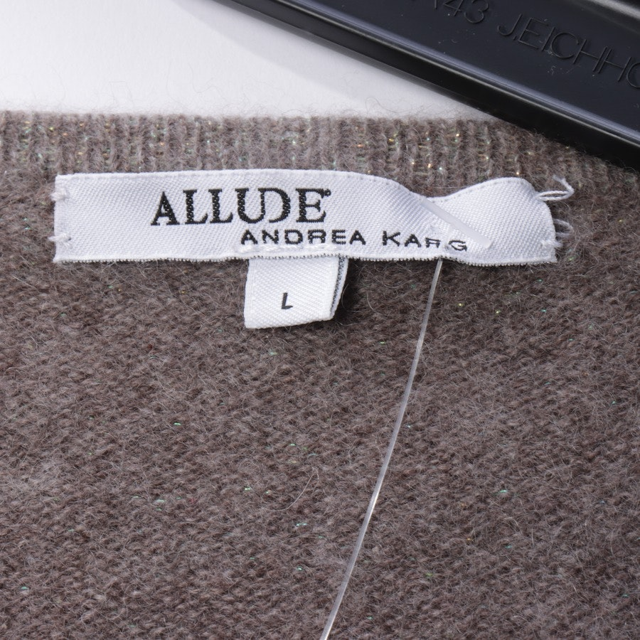 knitwear from Allude in brown size L
