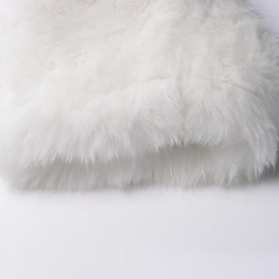 Winterjacke von Marc Cain in Weiß Gr. 36 N2