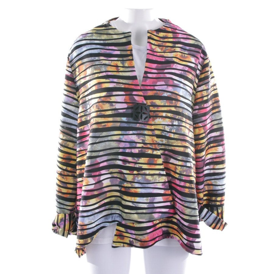 summer jackets from Joseph Ribkoff in black and multi-coloured size 48