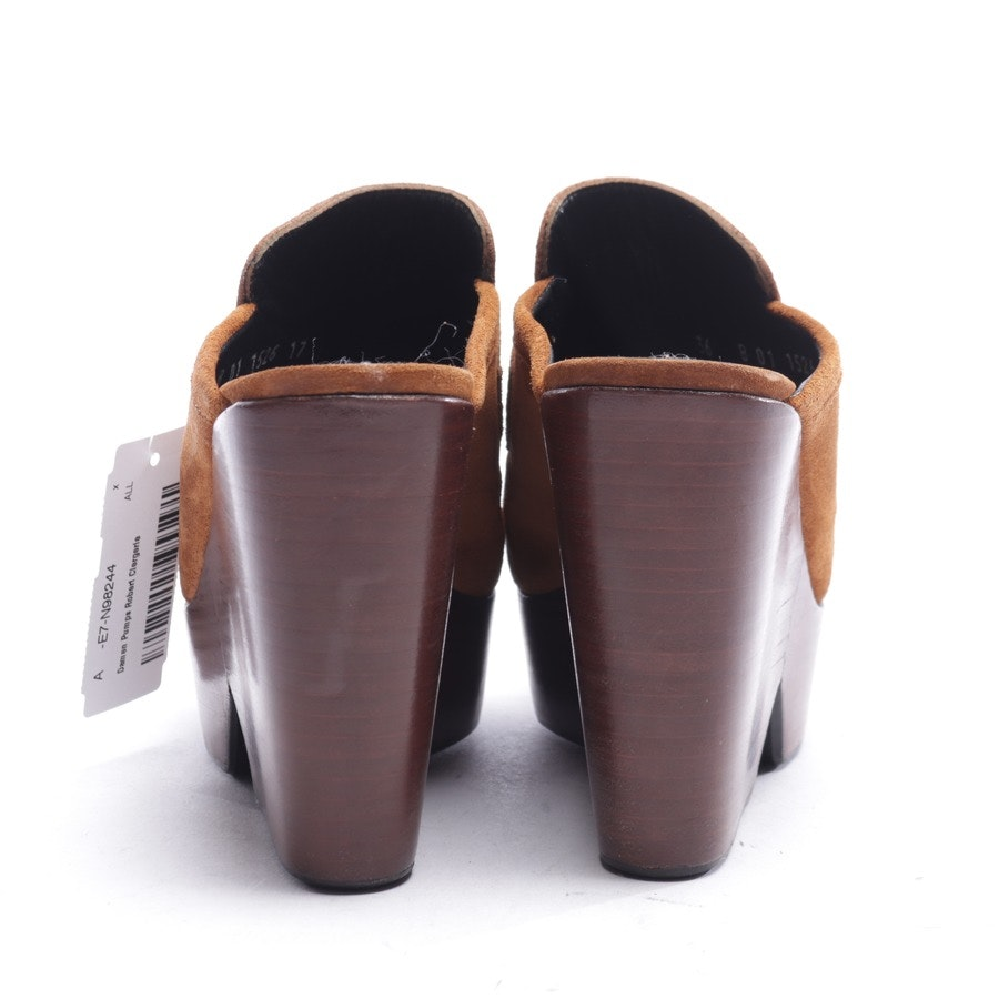 pumps from Robert Clergerie in cognac size EUR 36