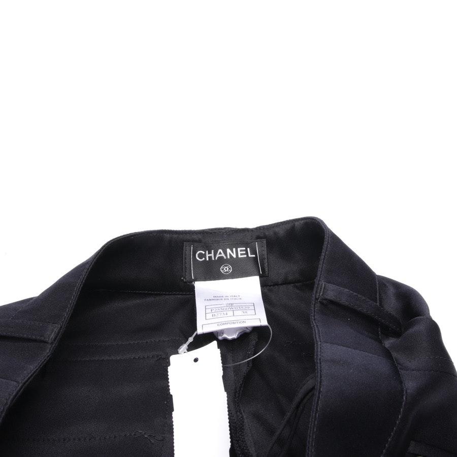 Seidenhose von Chanel in Schwarz Gr. 32 IT 38