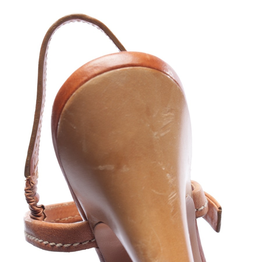 ankle boots from Prada in brown size EUR 37