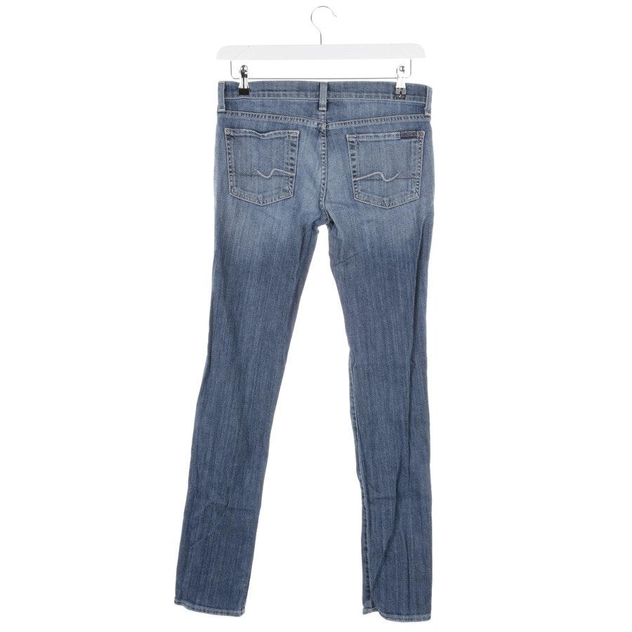 Jeans von 7 for all mankind in Graublau Gr. W28