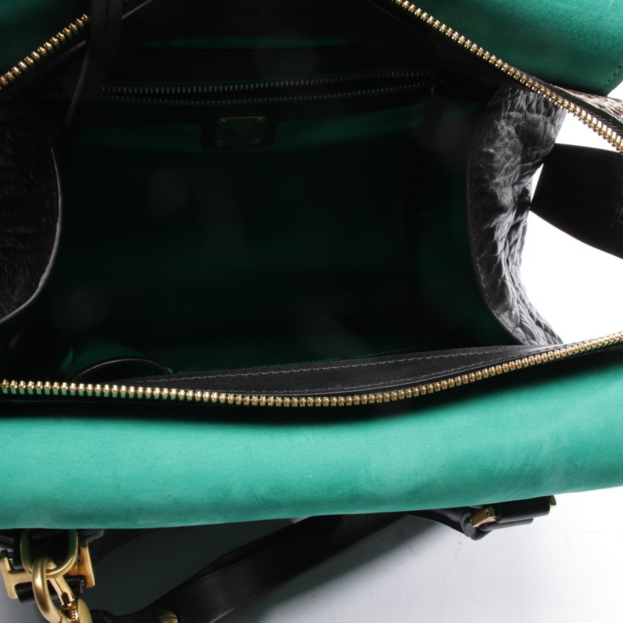 shoulder bag from MCM in black and green