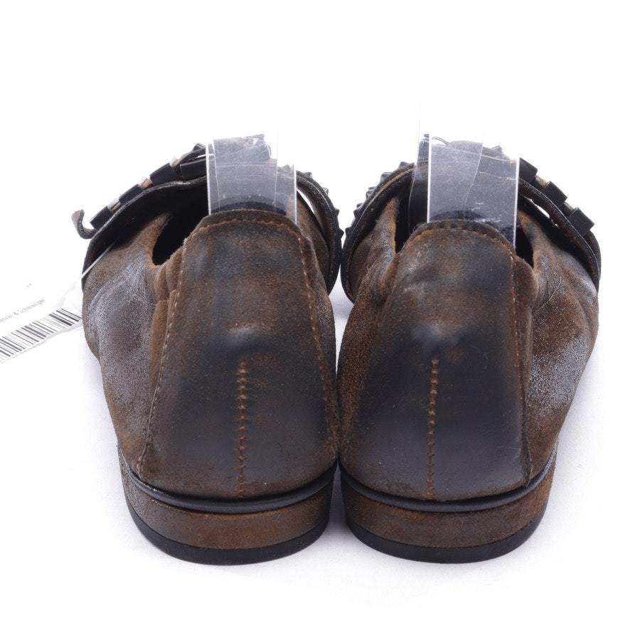 loafers from Kennel & Schmenger in brown size D 36,5 UK 3,5 - new!