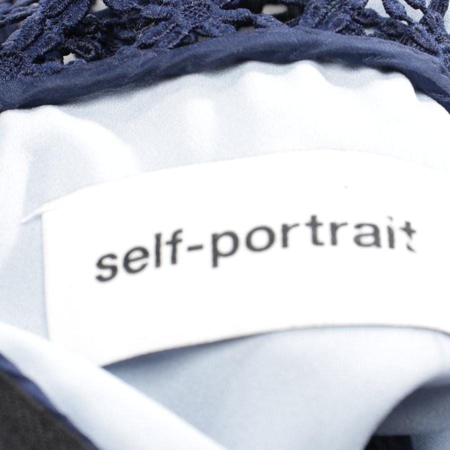 Spitzenkleid von self-portrait in Schwarz und Multicolor Gr. 36 UK 10