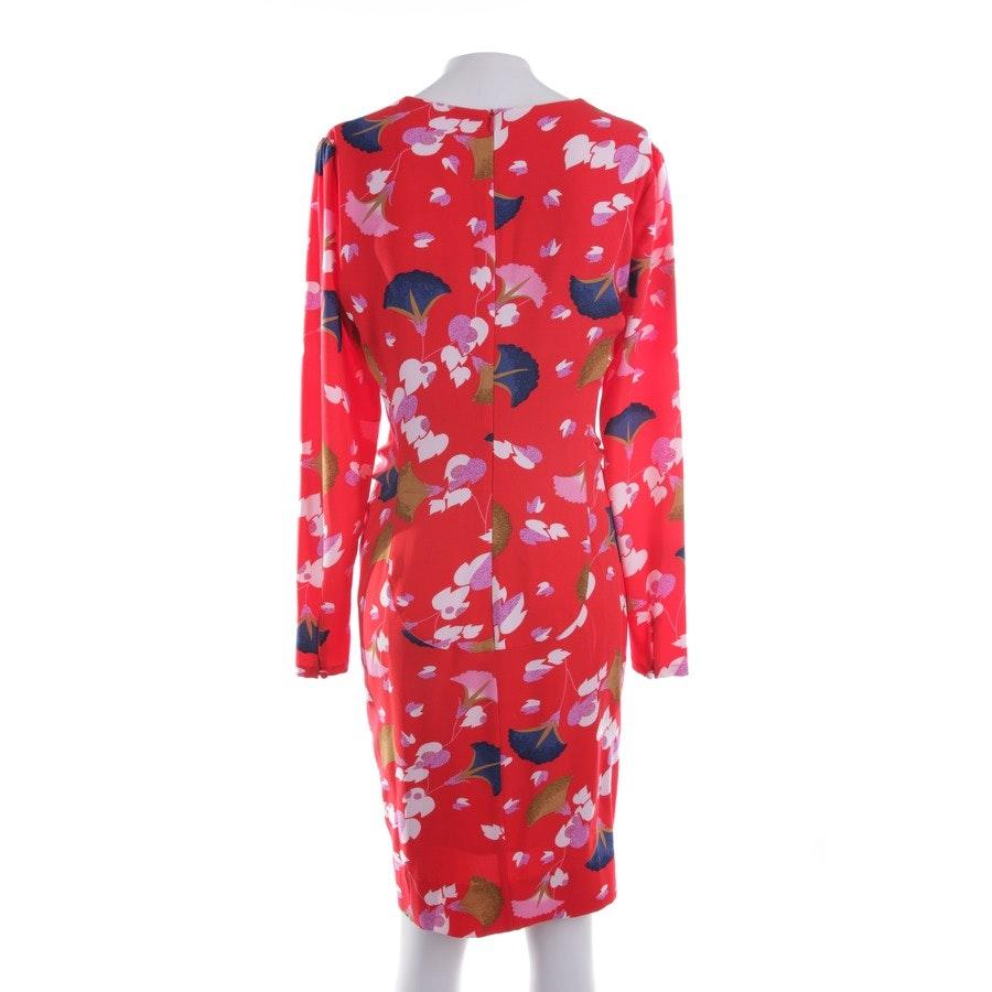Kleid von Essentiel Antwerp in Rot und Multicolor Gr. 36 FR 38