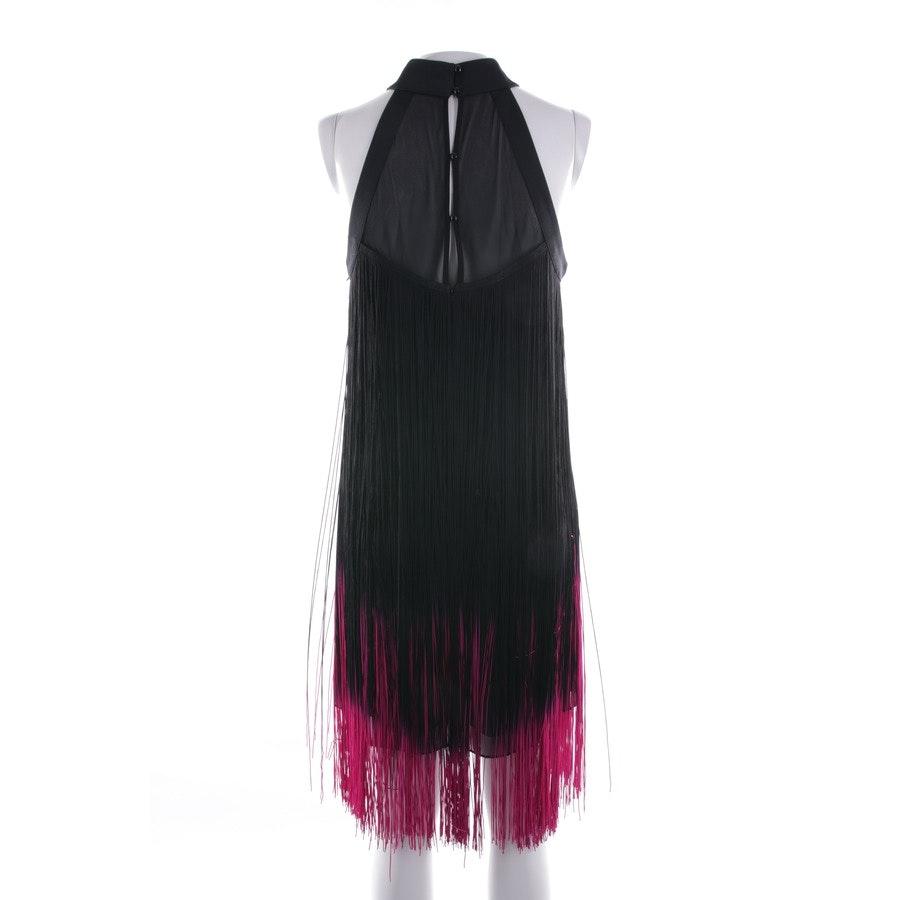 dress from Karen Millen in black and pink size 36 UK 10