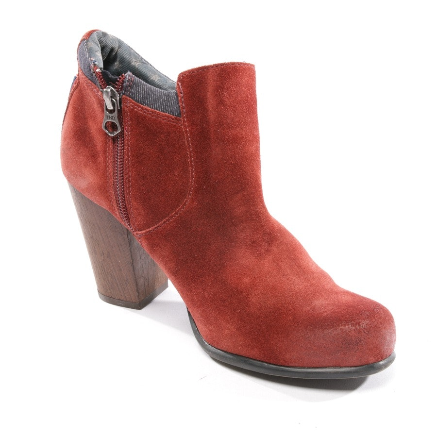 ankle boots from Tommy Hilfiger Denim in red-brown size D 37
