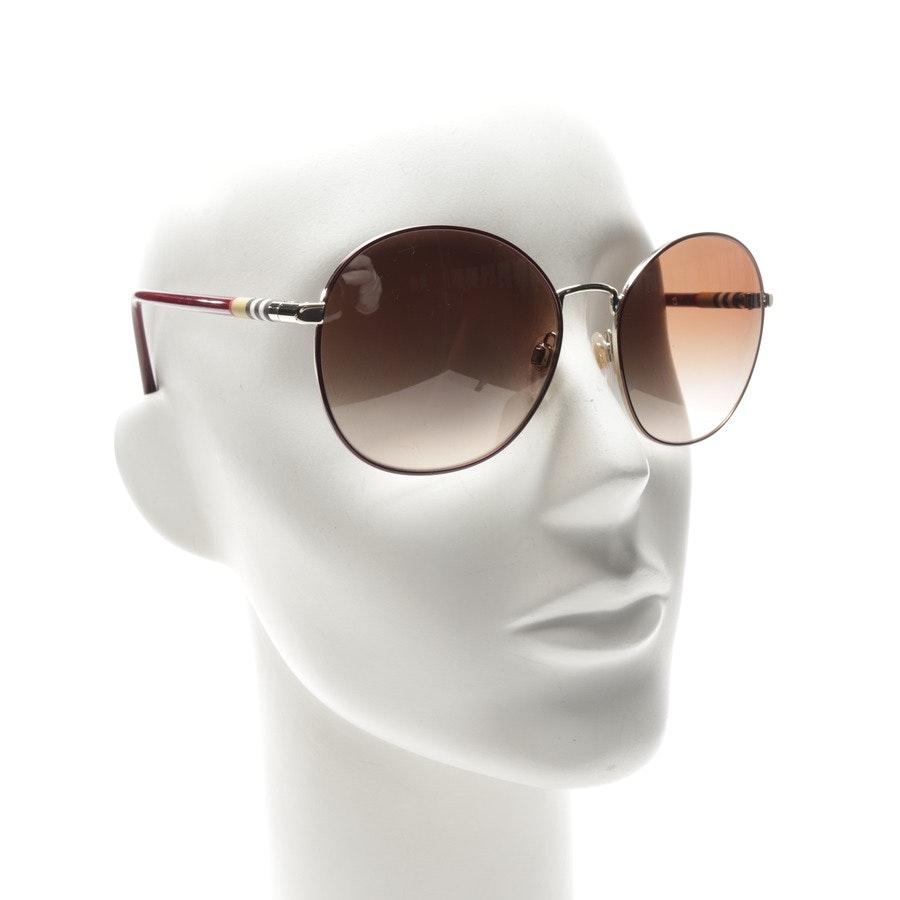 Sonnenbrille von Burberry in Bordeaux und Multicolor