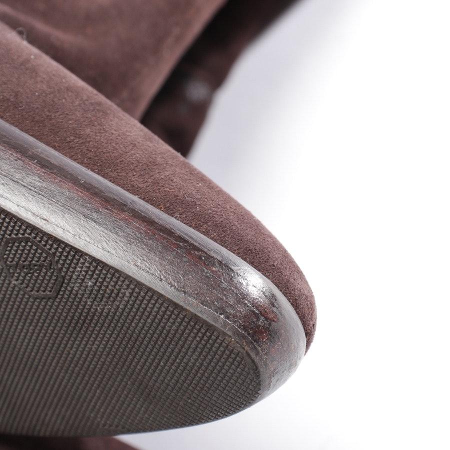 Stiefel von Hermès in Dunkelbraun und Schwarz Gr. EUR 37