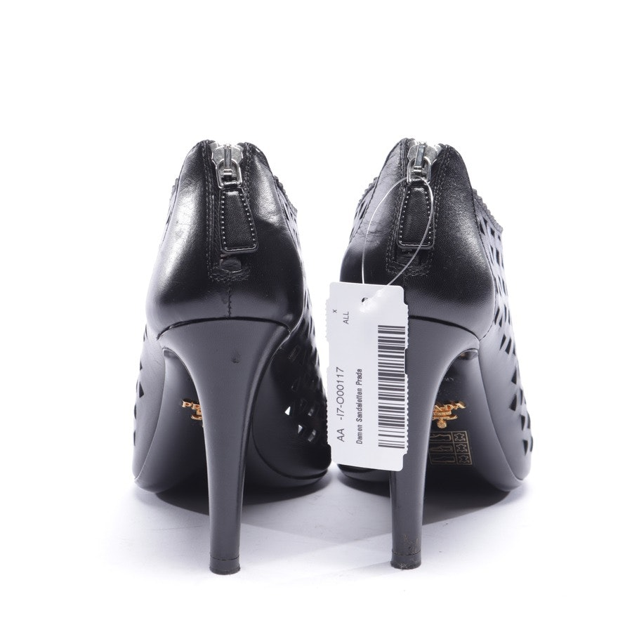 heeled sandals from Prada in black size EUR 38