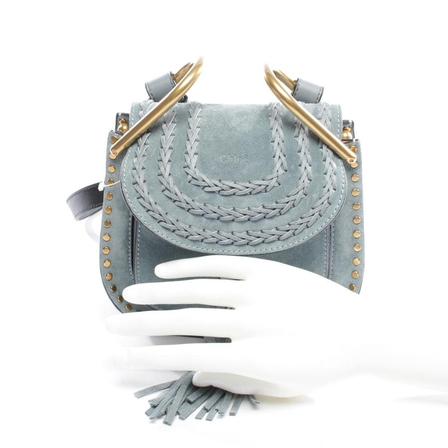 Umhängetasche von Chloé in Blau - Hudson Mini