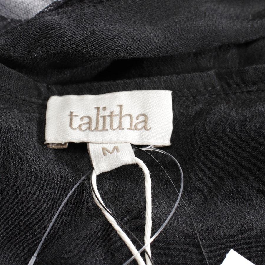 Seidenkleid von Talitha in Schwarz Gr. M - NEU