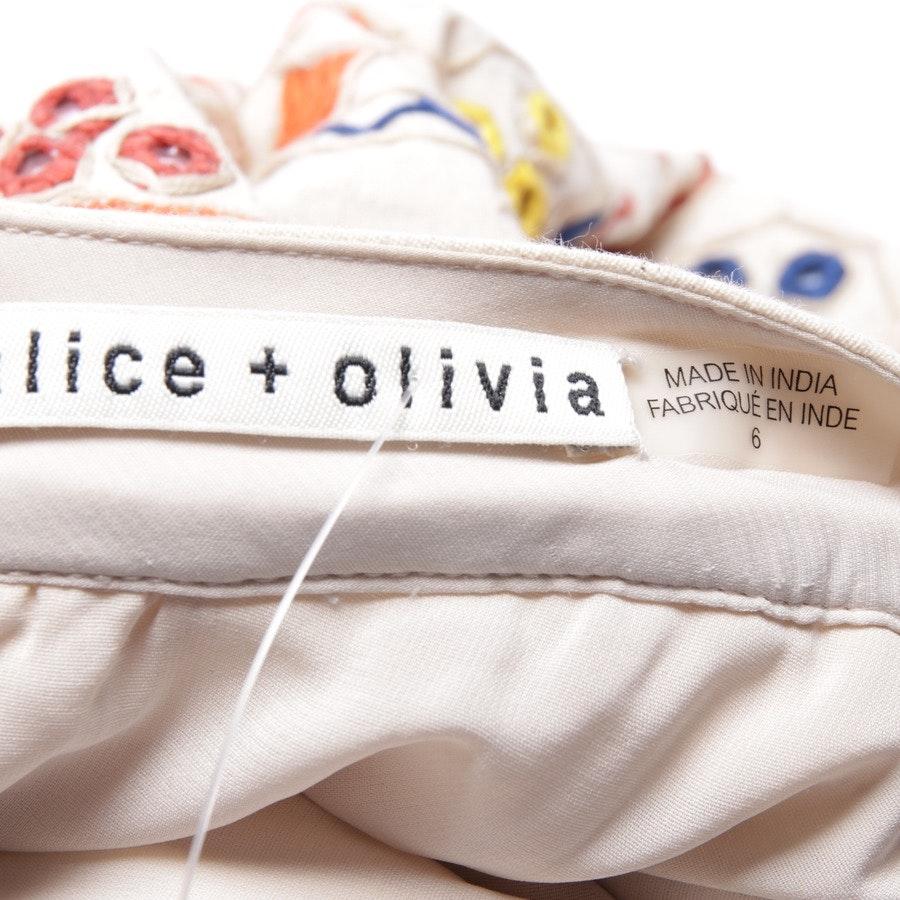 Wollrock von Alice + Olivia in Multicolor Gr. 36 US 6
