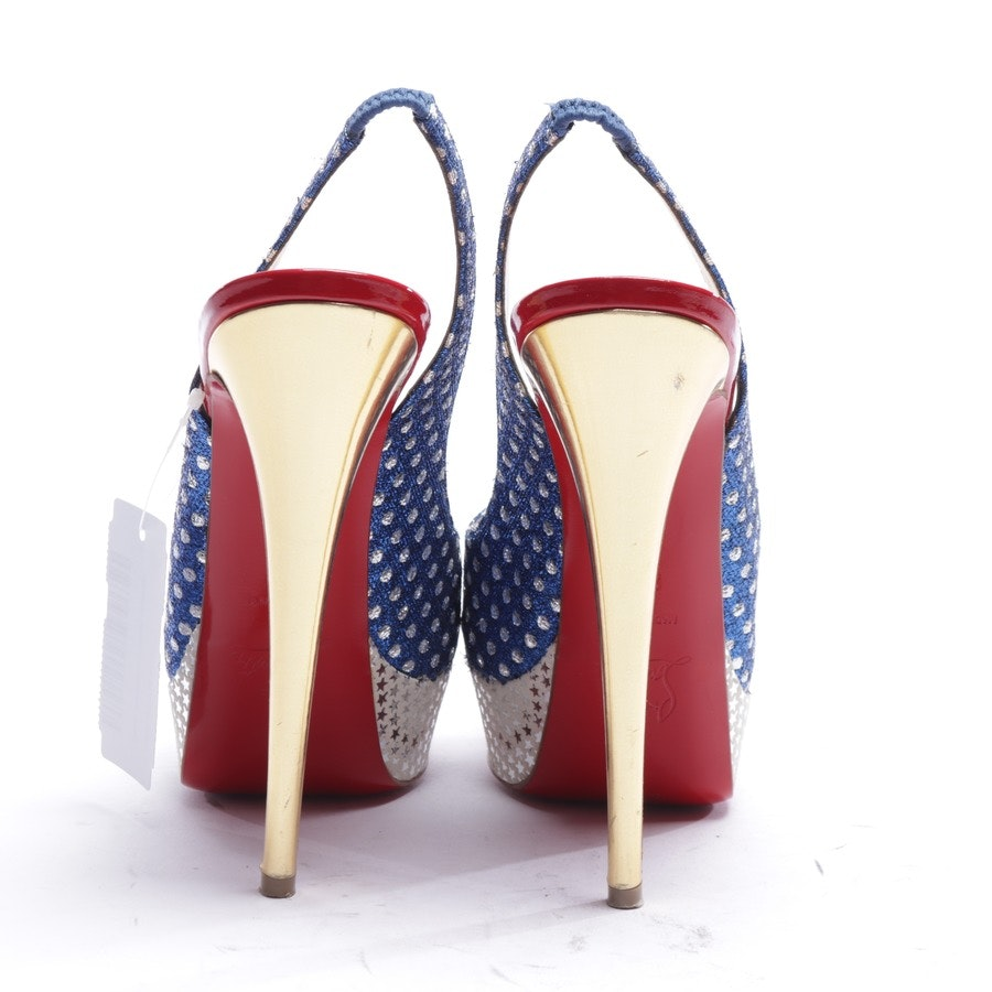 heeled sandals from Christian Louboutin in multicolor size EUR 37,5