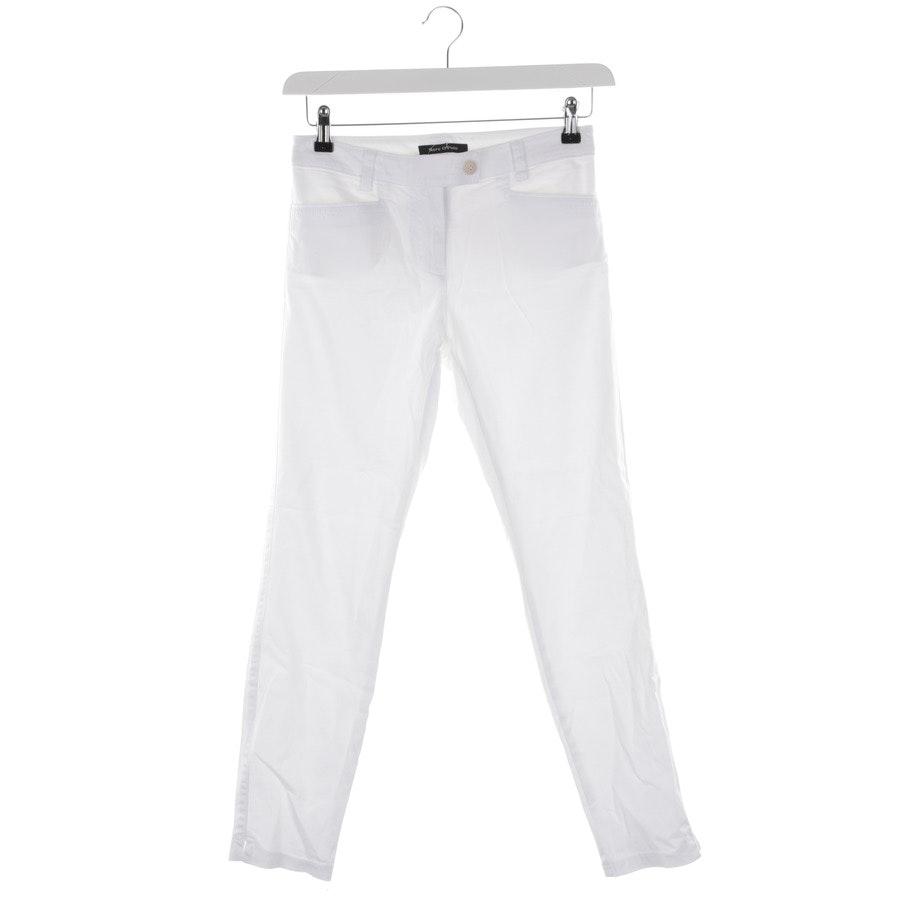 Hose von Marc O'Polo in Weiß Gr. 34