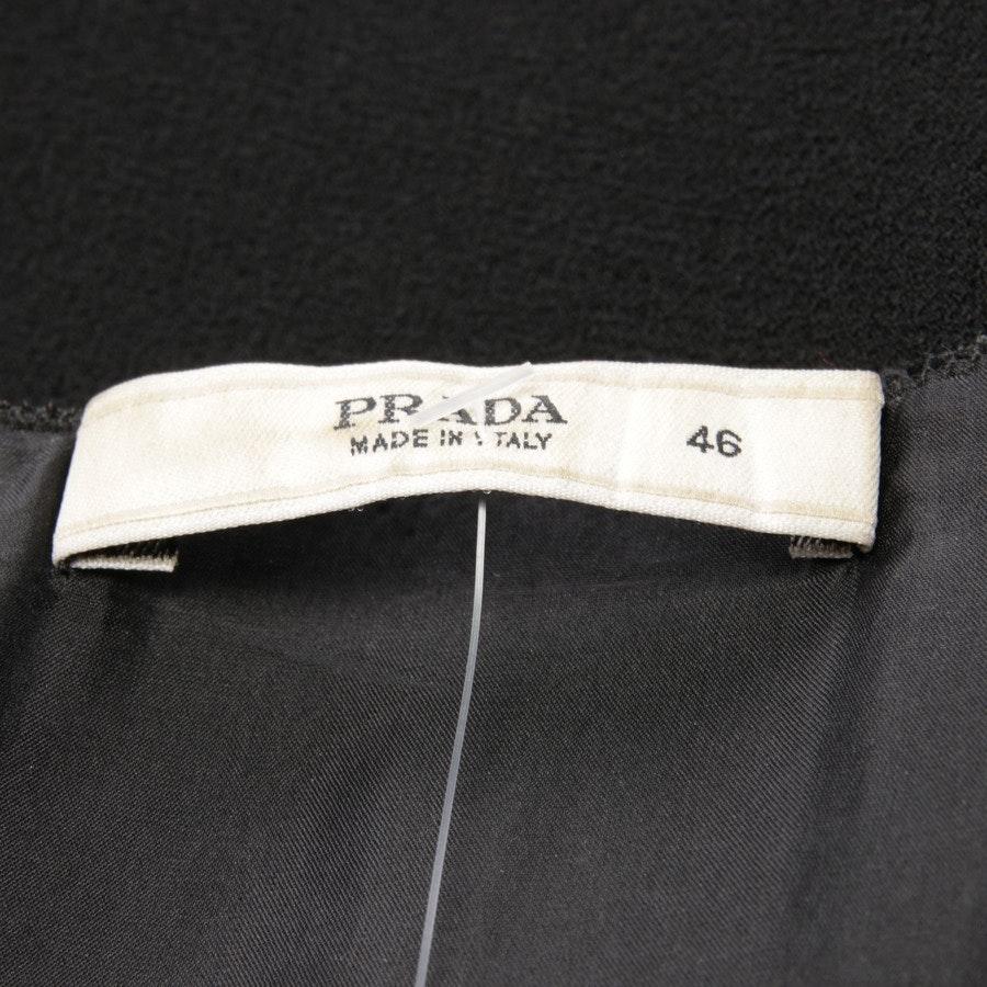 Wollkleid von Prada in Schwarz Gr. 40 IT 46