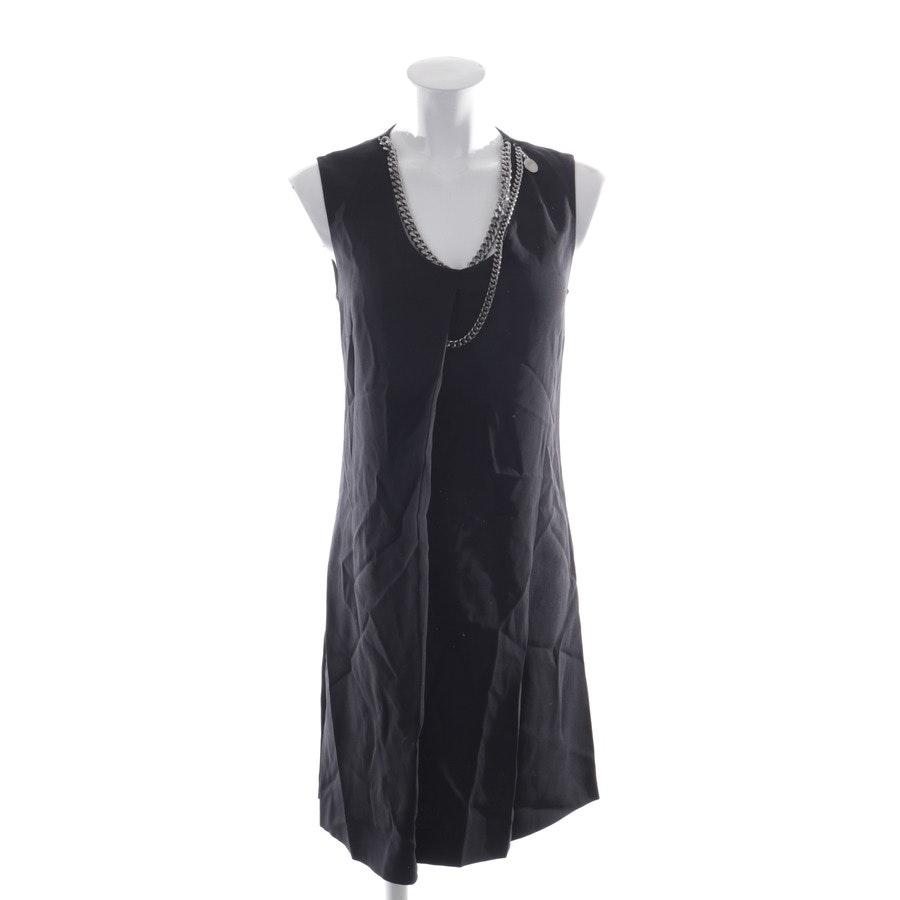 Kleid von Stella McCartney in Schwarz und Silber Gr. 34 IT 40