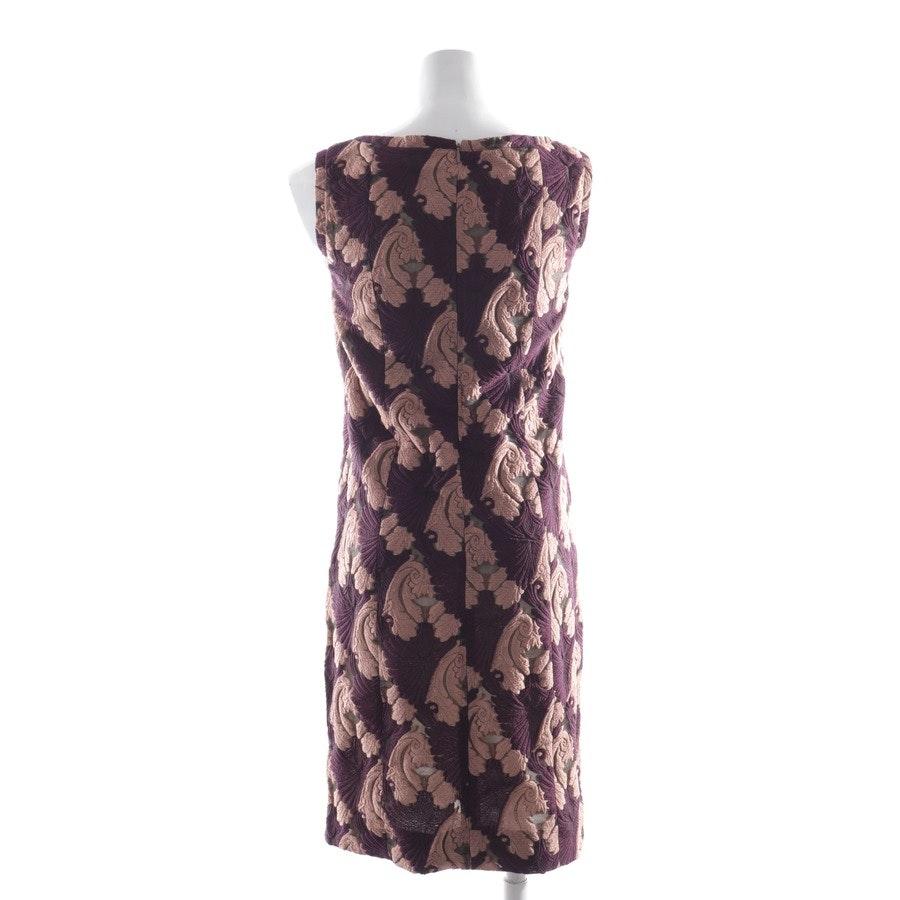 Kleid von Emilia Wickstead in Beigerosa und Lila Gr. 34 - Neu