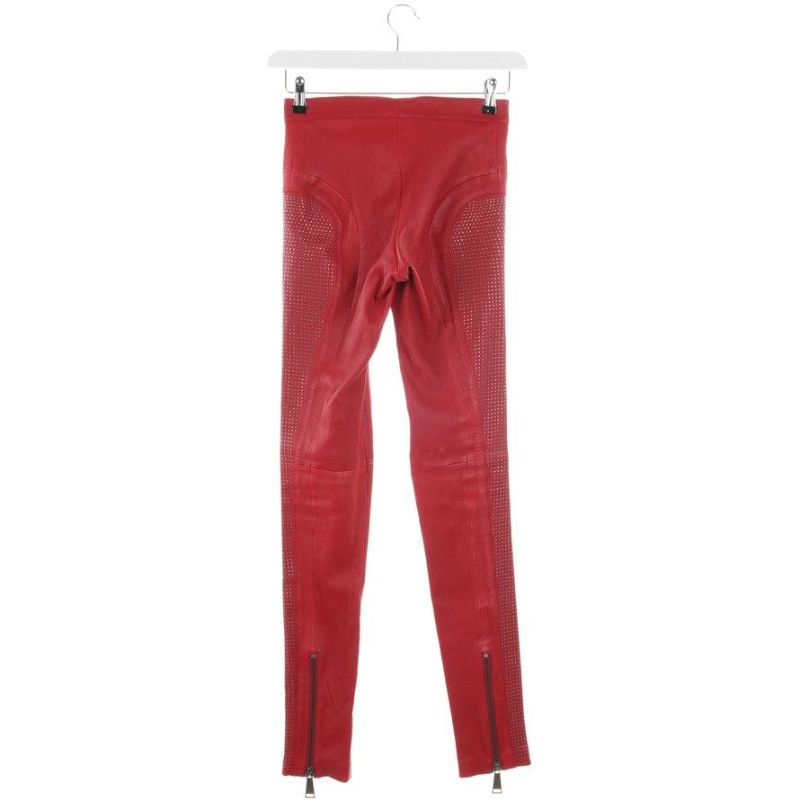 Lederhose von Philipp Plein in Rot Gr. M