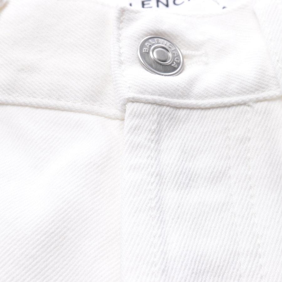 Jeans von Balenciaga in Weiß Gr. W26 - Neu