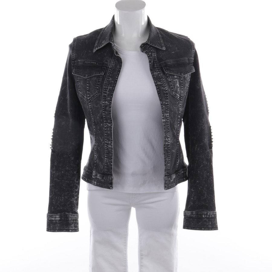 summer jackets from Philipp Plein in black mottled size S