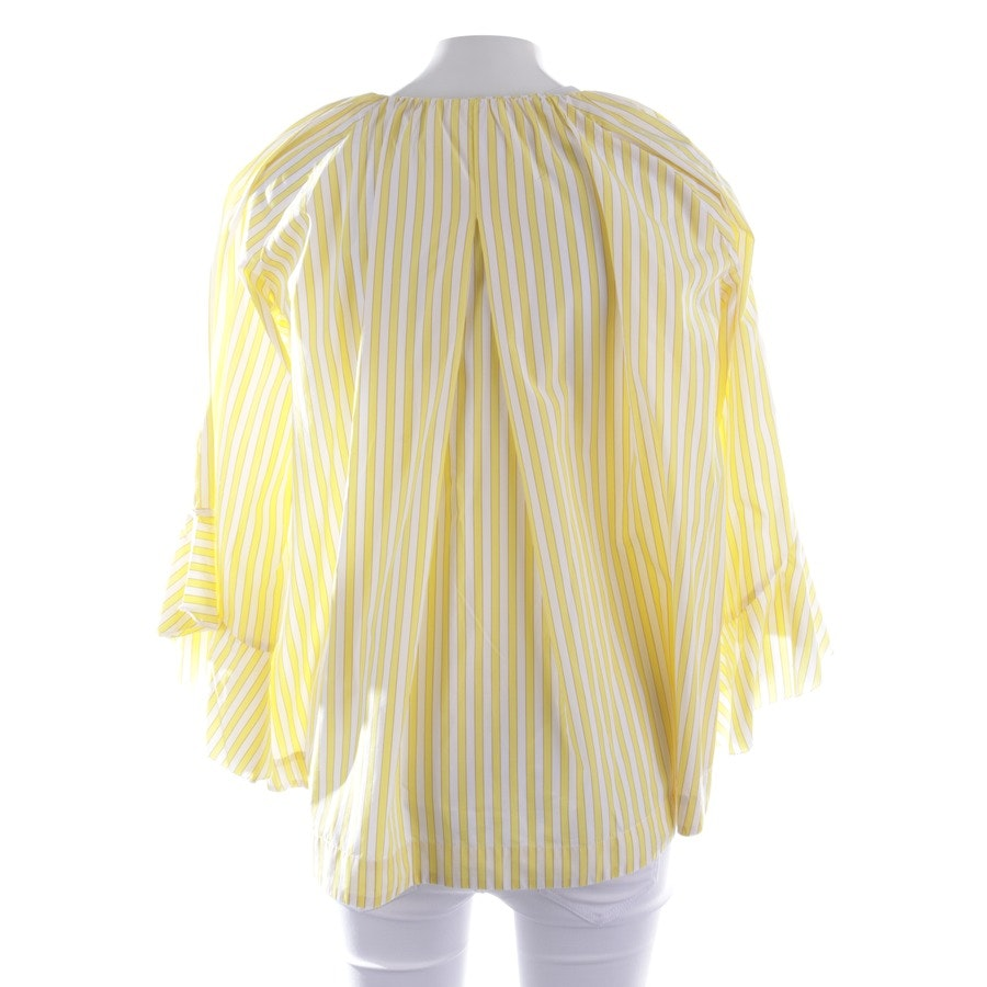 blouses & tunics from Marc Cain in yellow and white size 34 N1