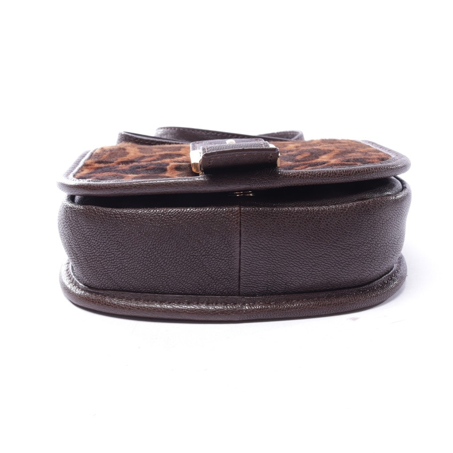 evening bags from Michael Kors in chocolate brown and beige
