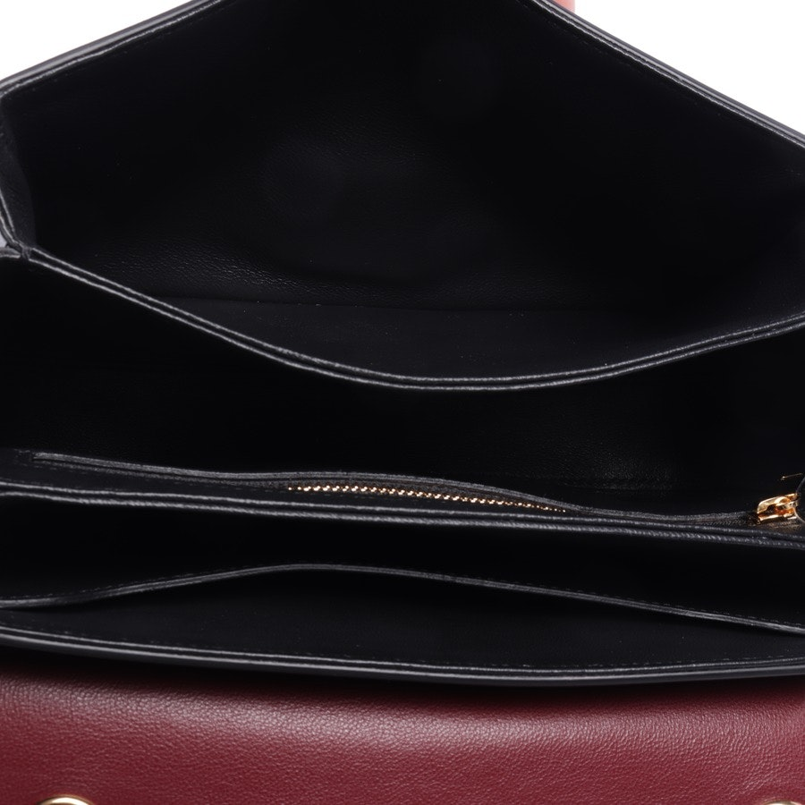 shoulder bag from Céline in black and red - medium c - new