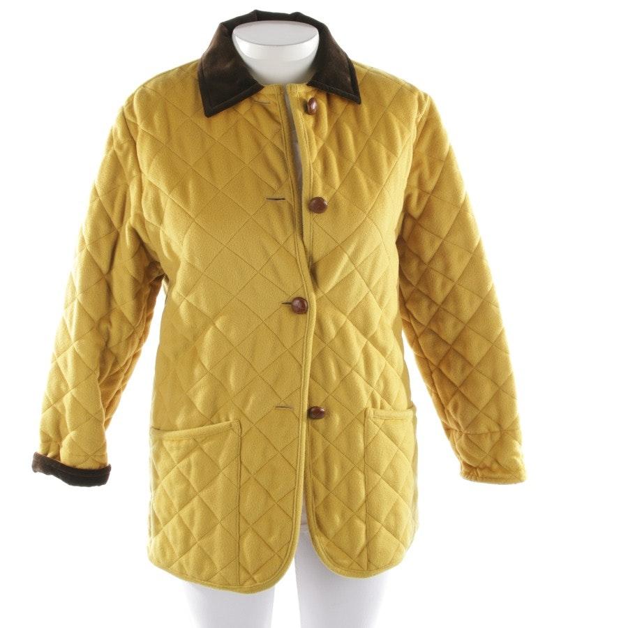 Wolljjacke von Etro in Gelb Gr. L