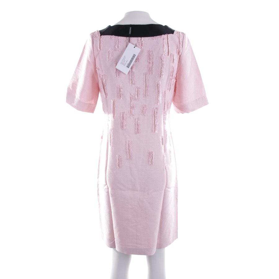 Kleid von Amanda Wakeley in Zartrosa und Schwarz Gr. 32 UK 6 - Neu