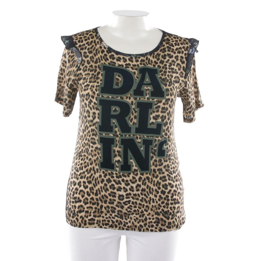 Shirt von Rich & Royal in Beigebraun und Schwarz Gr. XL