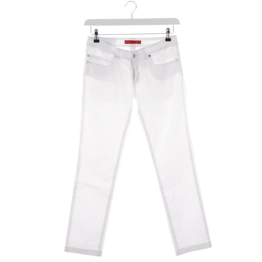 Hose von Hugo Boss Red Label in Weiß Gr. W28