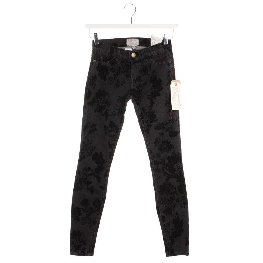 Jeans von Current/Elliott in Grau und Schwarz Gr. W26 - The Ankle Skinny