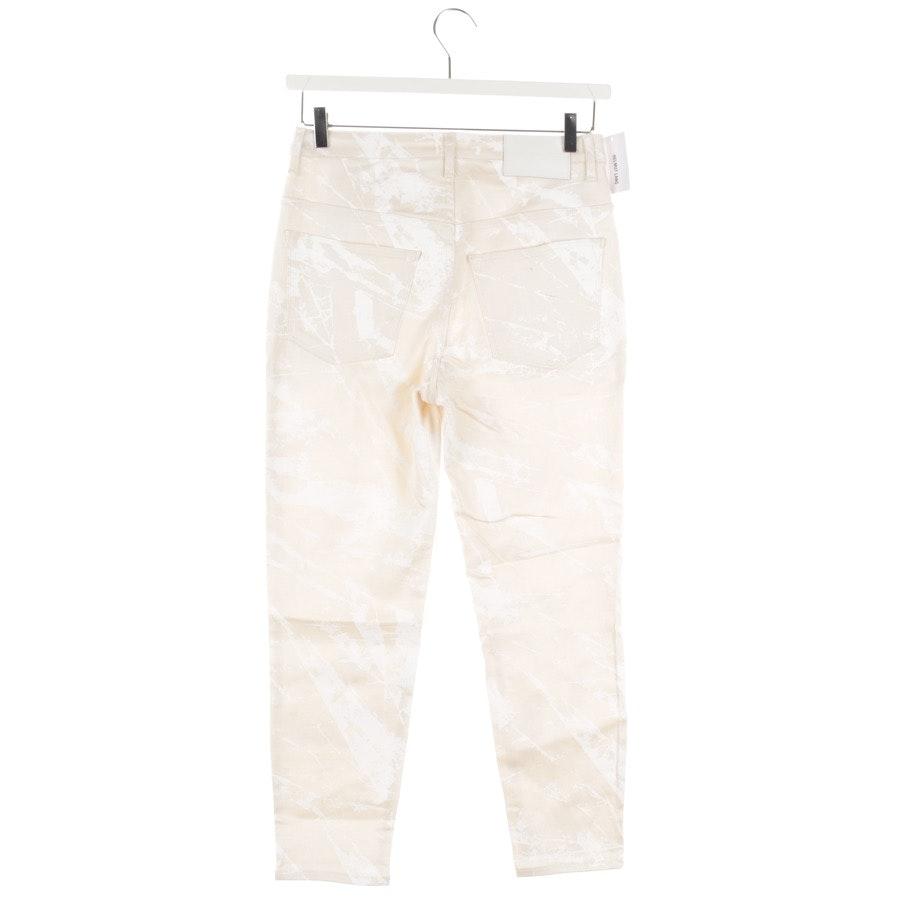 Jeans von Helmut Lang in Beige Gr. W26 - Crop Skinny - Neu