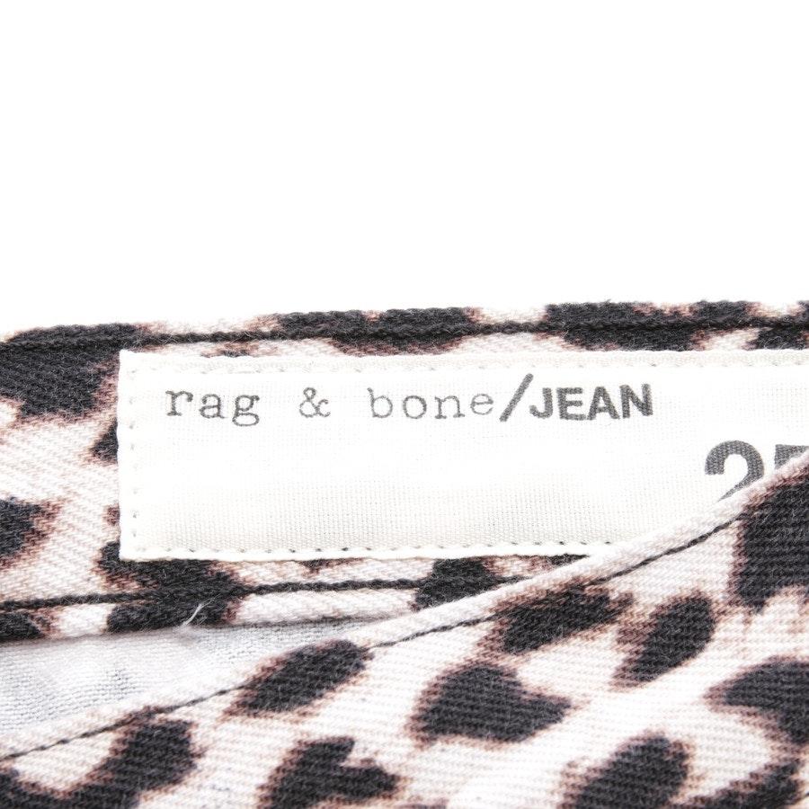 Jeans von Rag & Bone in Braun und Beige Gr. W25 - Boyfriend - Neu