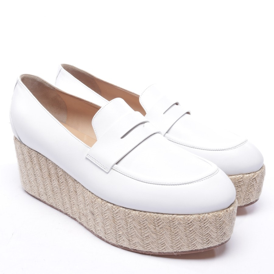 loafers from Gabriela Hearst in white and white size EUR 42