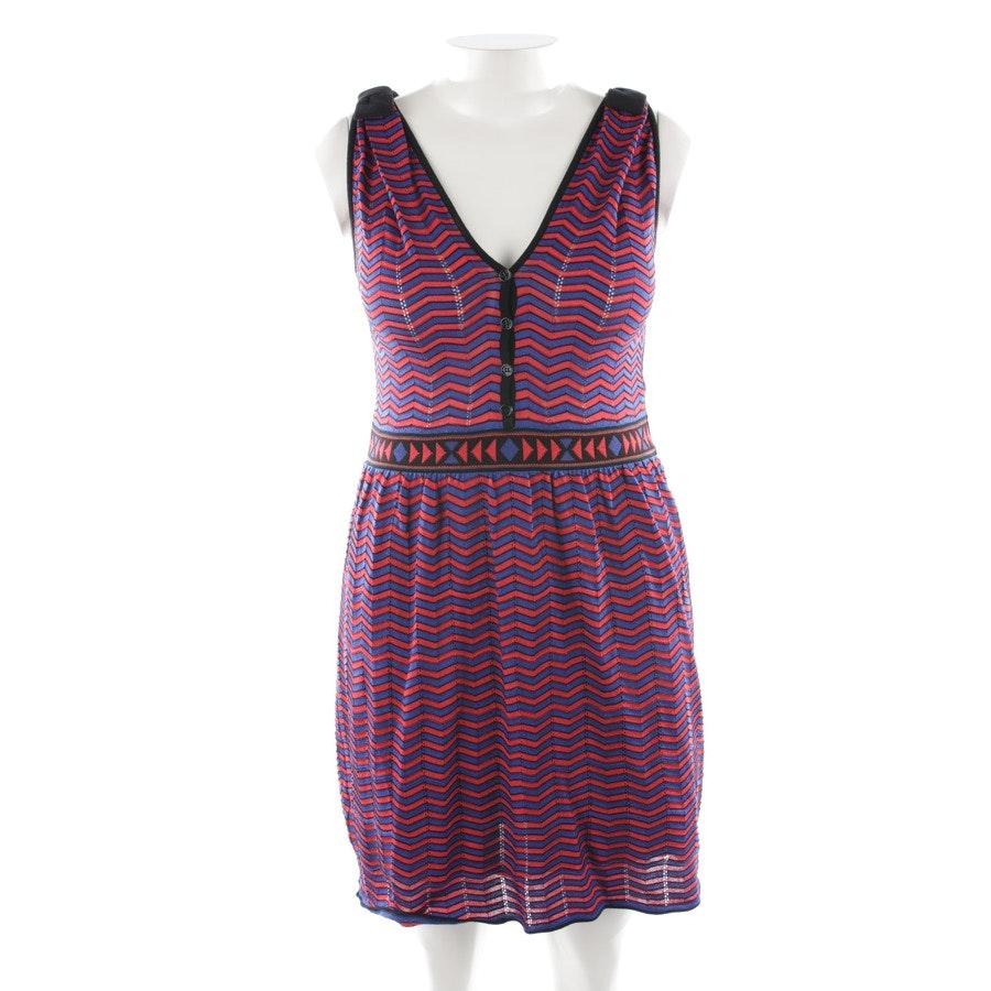 Kleid von Missoni M in Rot und Blau Gr. 38