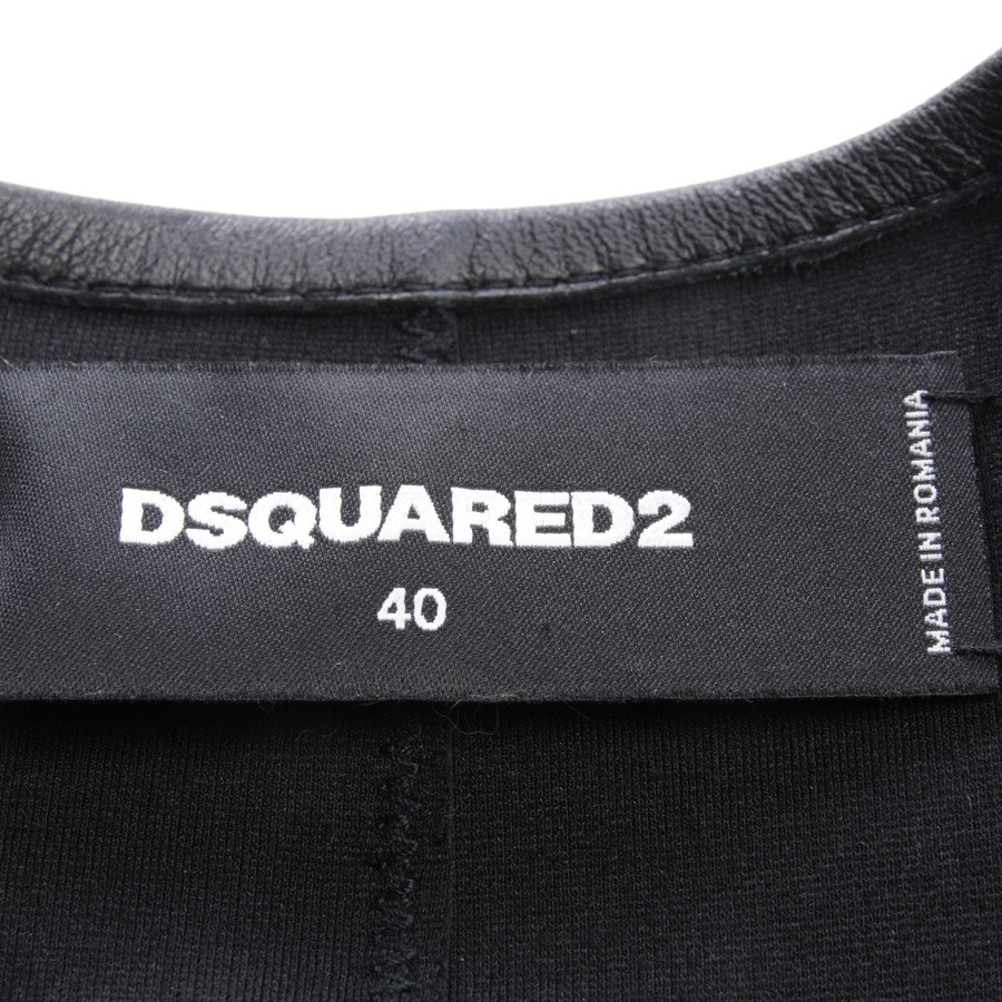 leather jacket from Dsquared in black size DE 34 IT 40