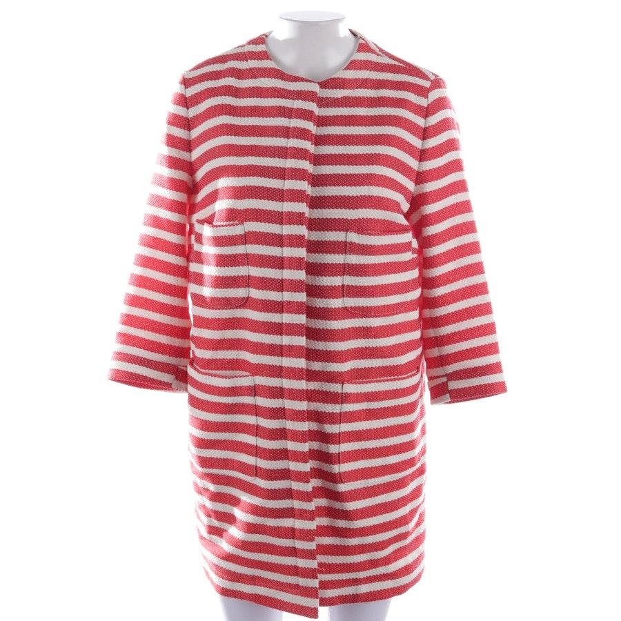 Mantel von 0039 Italy in Rot und Weiß Gr. M