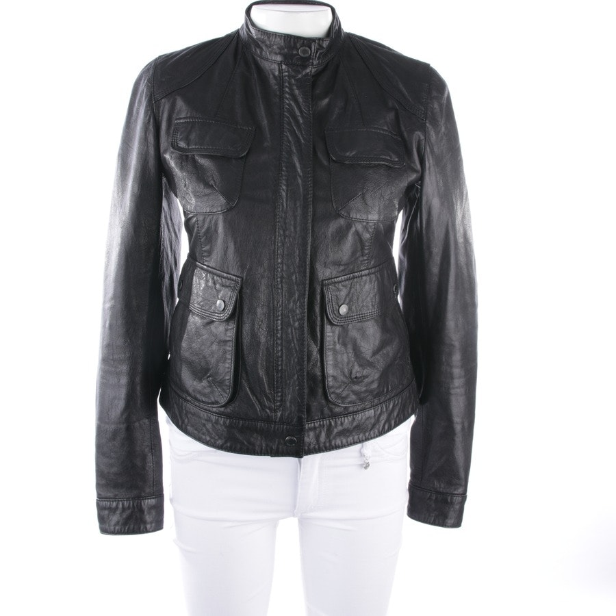 leather jacket from Gant in black size 36