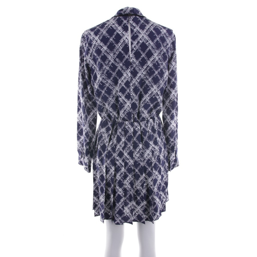 dress from MSGM in dark blue and white size 34 IT 40